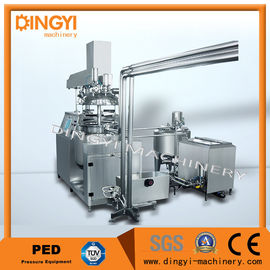 50-500L Suppository Vacuum Emulsifying Machine , Vacuum Emulsifier High Speed