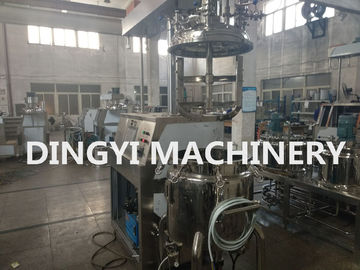 Electrical Heating Vacuum Planetary Mixer Steel HMI Control High Shear Vortex