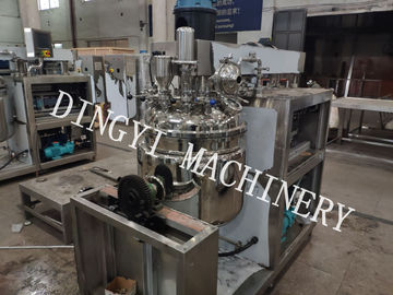 Electrical Heating Vacuum Emulsifying Mixer For Cosmetic And Pharmaceutical