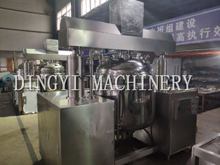 Automatic Vacuum Emulsifying Mixer For Cream , Lotion , Wax
